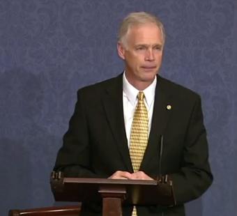Johnson Speaks on the Floor of the U.S. Senate